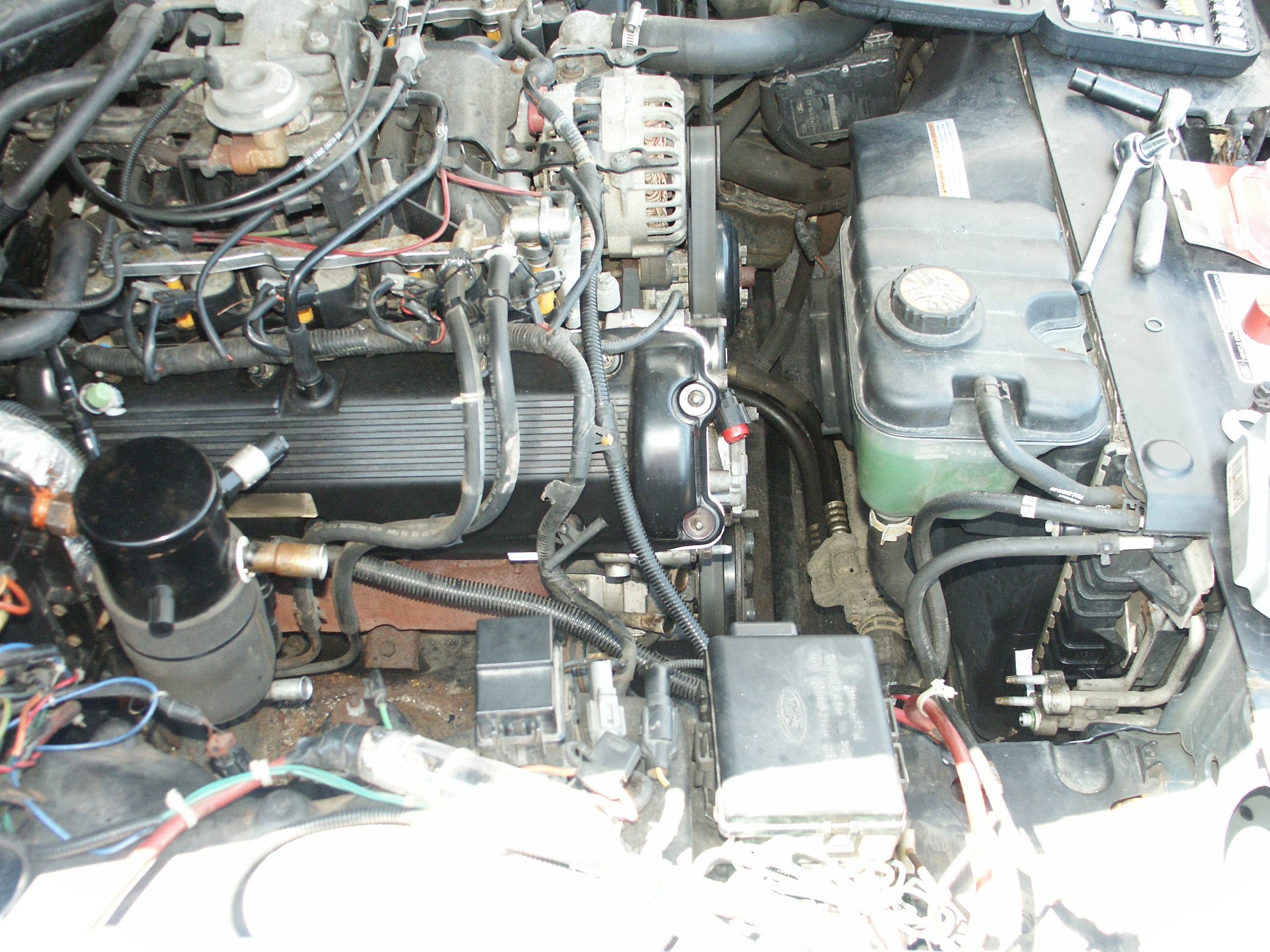 Ford Crown Victoria A/C System Tuneup