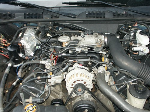 ford crown victoria high output 200 amp mitsubishi ... 1998 ford crown victoria engine belt diagram