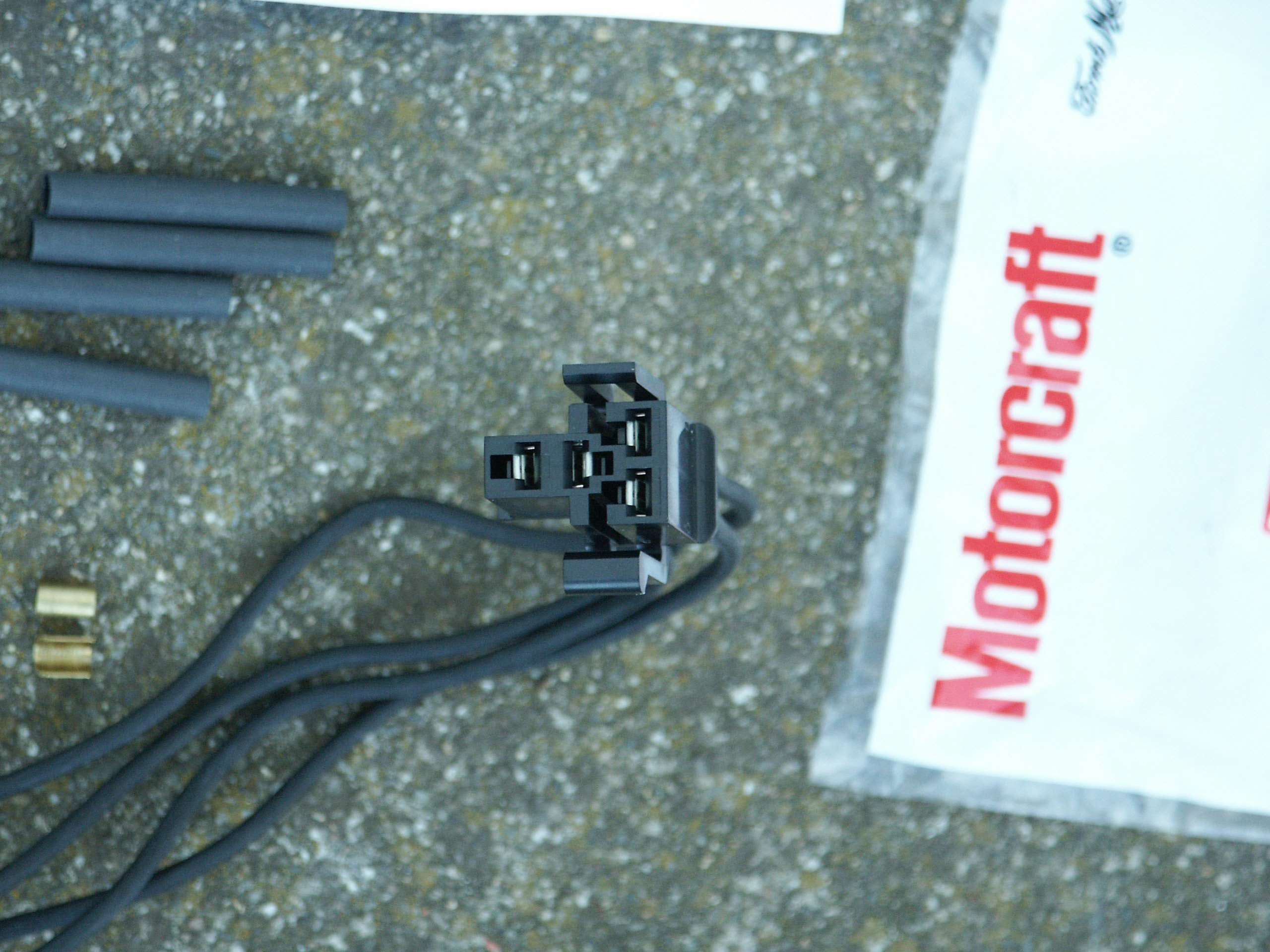 Ford Blower Motor Resistor Pigtail Replacement Ac Wiring Harness 1995 B3000