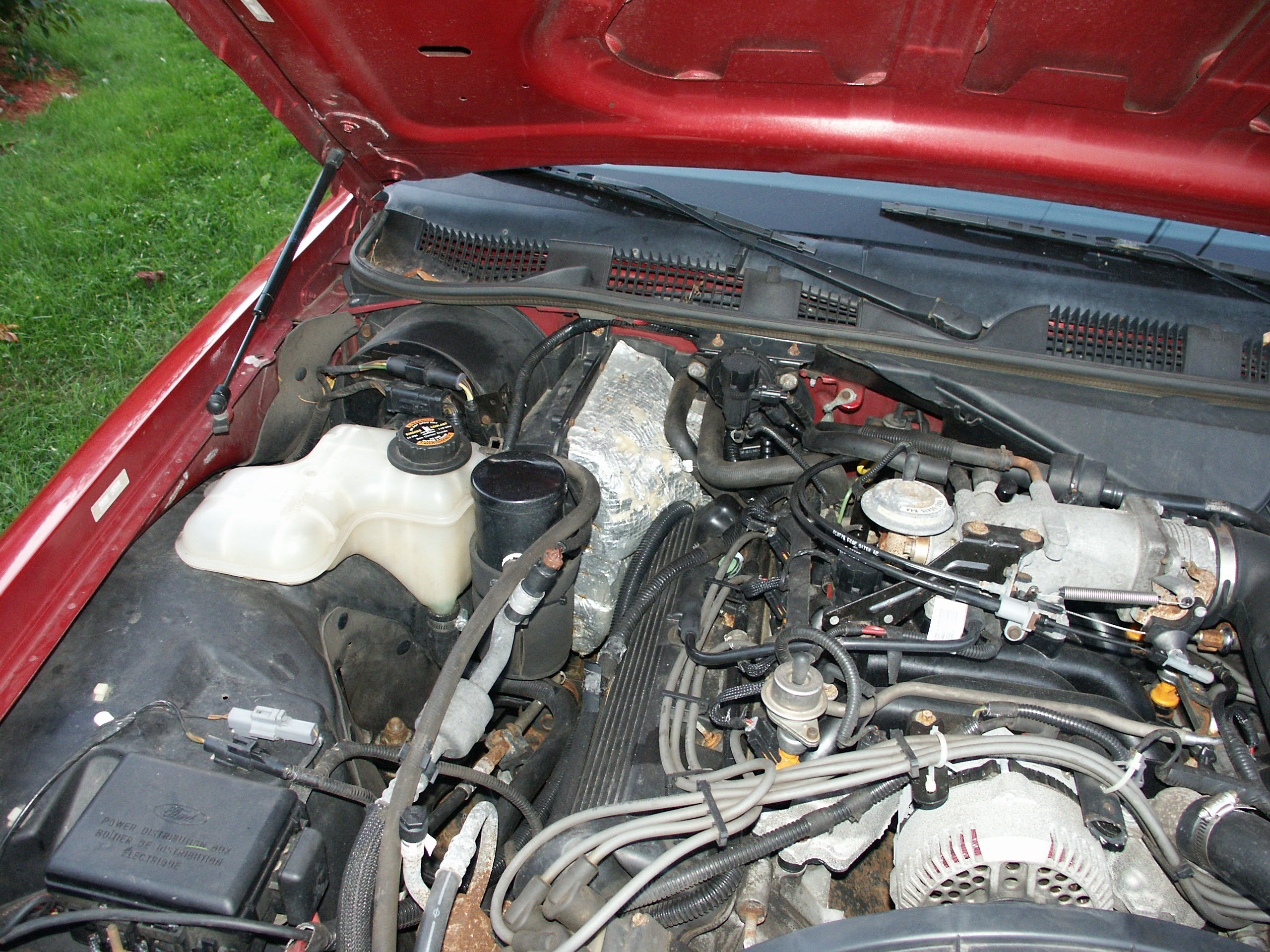 Ford Blower Motor Resistor Pigtail Replacement Ac Plug Wiring Mazda Parts And A Few More Pictures From Various Angles Around 1997 Police Cruiser Engine Bay