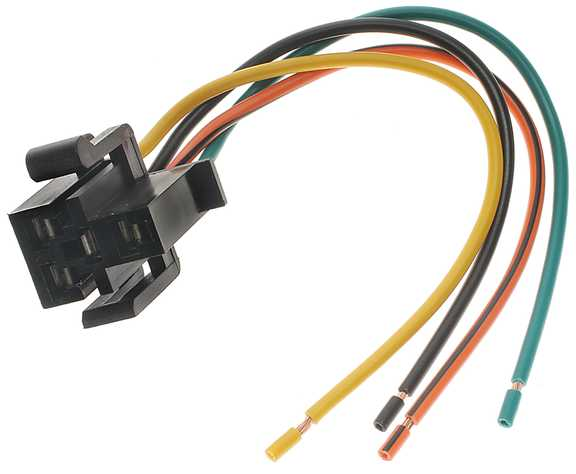 ech ec4 1 ford blower motor resistor pigtail replacement Wiring Harness Diagram at soozxer.org