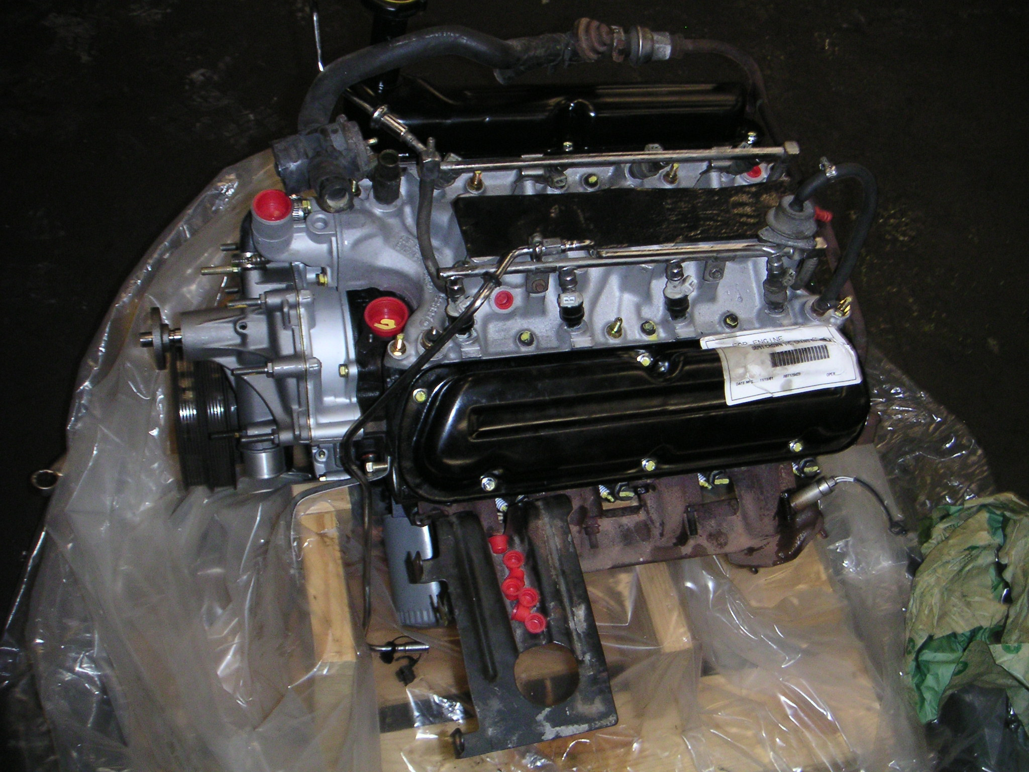 1989 Ford Crown Victoria Engine Bay Pictures