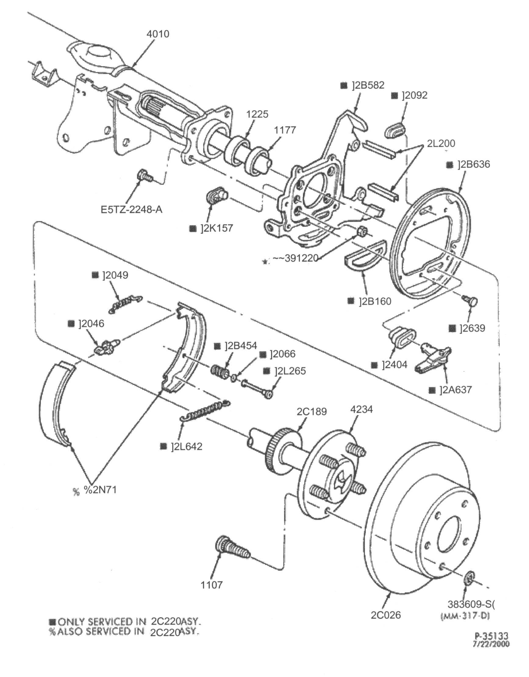 acura brakes diagram