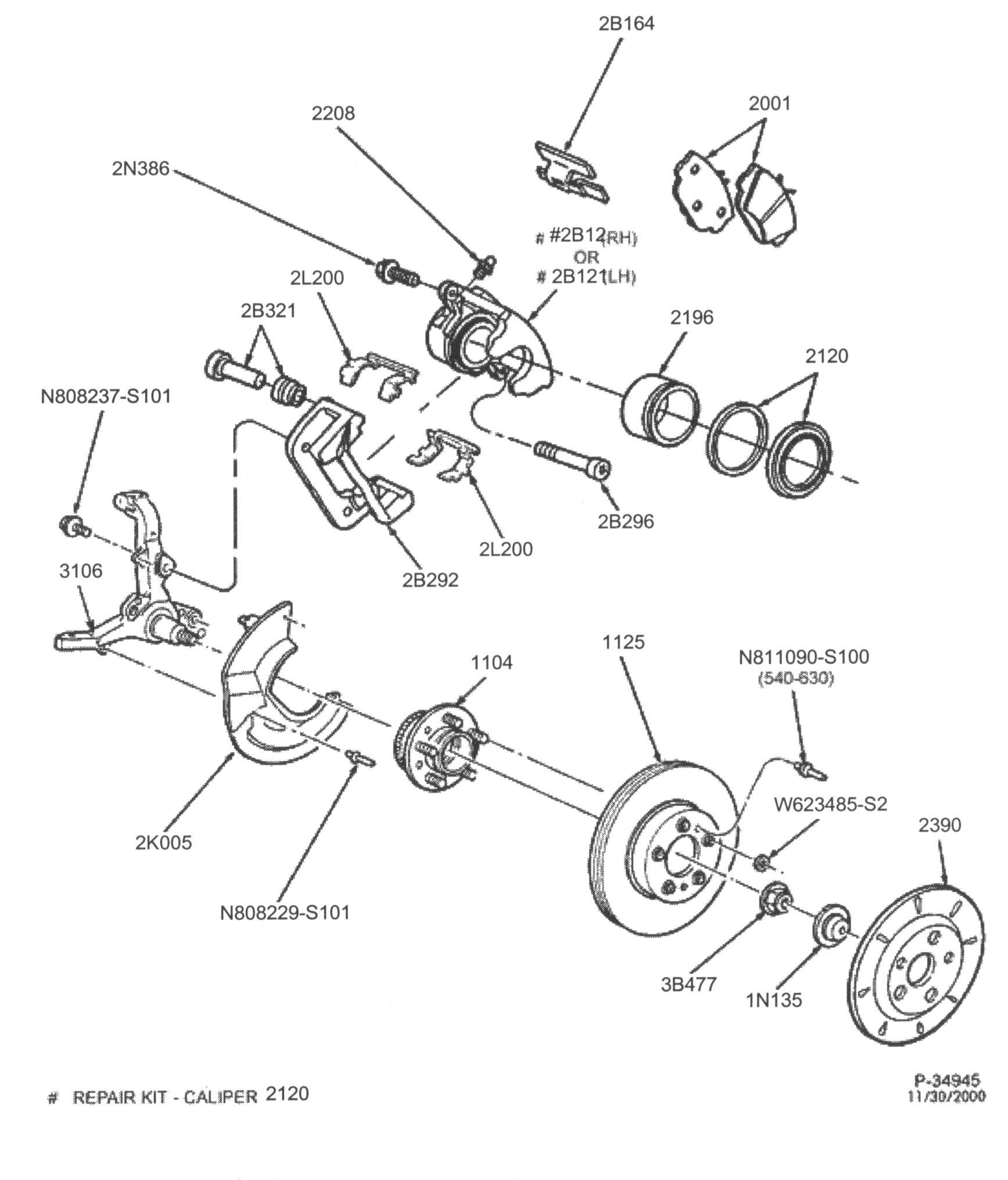 ford fusion 2006 rear brake diagrams