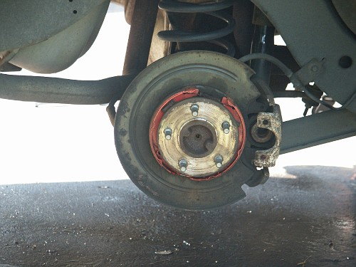 1997 Ford Crown Victoria Emergency Brake Pictures