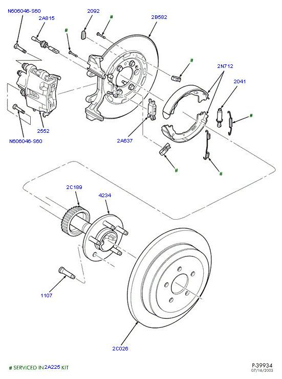 2001 p71 rear wheel stud question