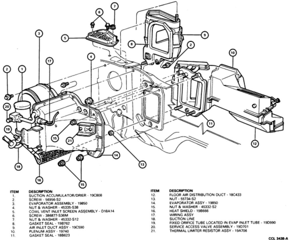 service manual  2003 mercury grand marquis heater fan