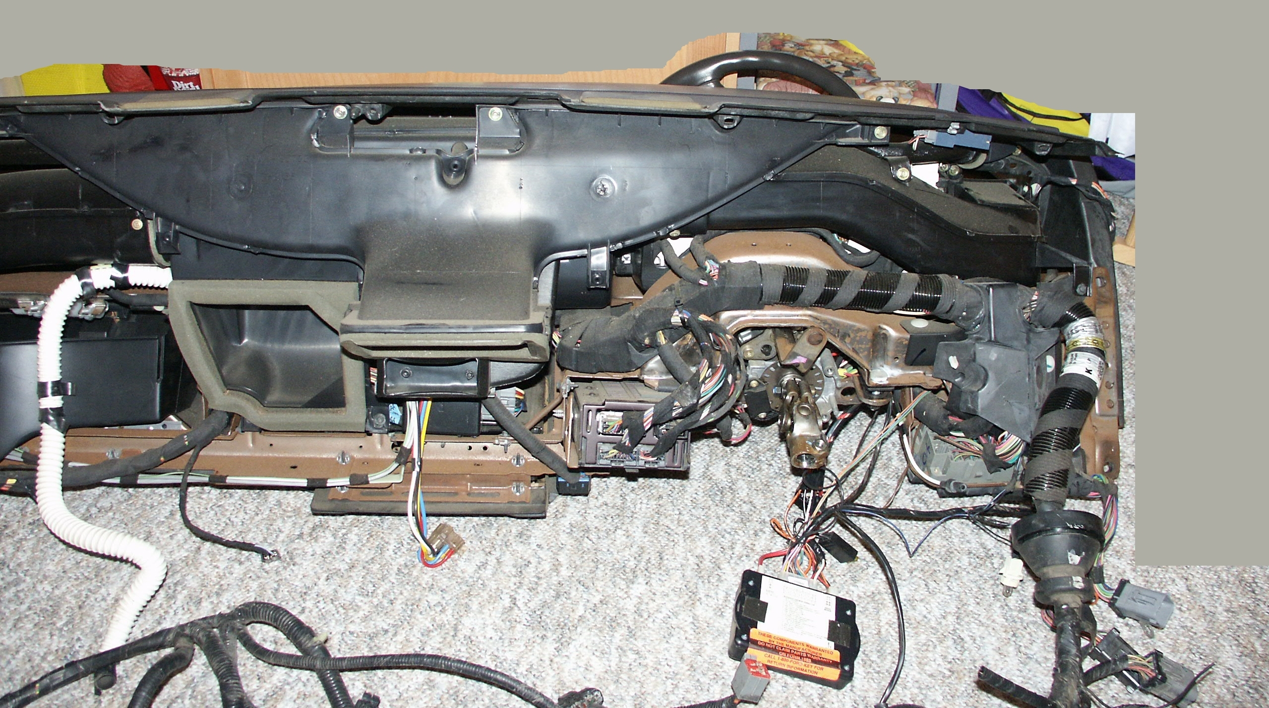 wiring diagram for 1995 lincoln towncar air suspension system #30  ford  crown victoria dashboard