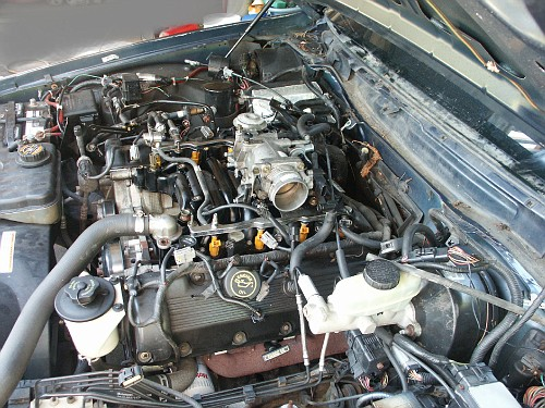 Ford Crown Victoria Intake Manifold Replacement S. Remove Throttle Body And Air Intake Plenum. Mercury. 1999 Mercury Grand Marquis Intake Manifold Diagram At Scoala.co