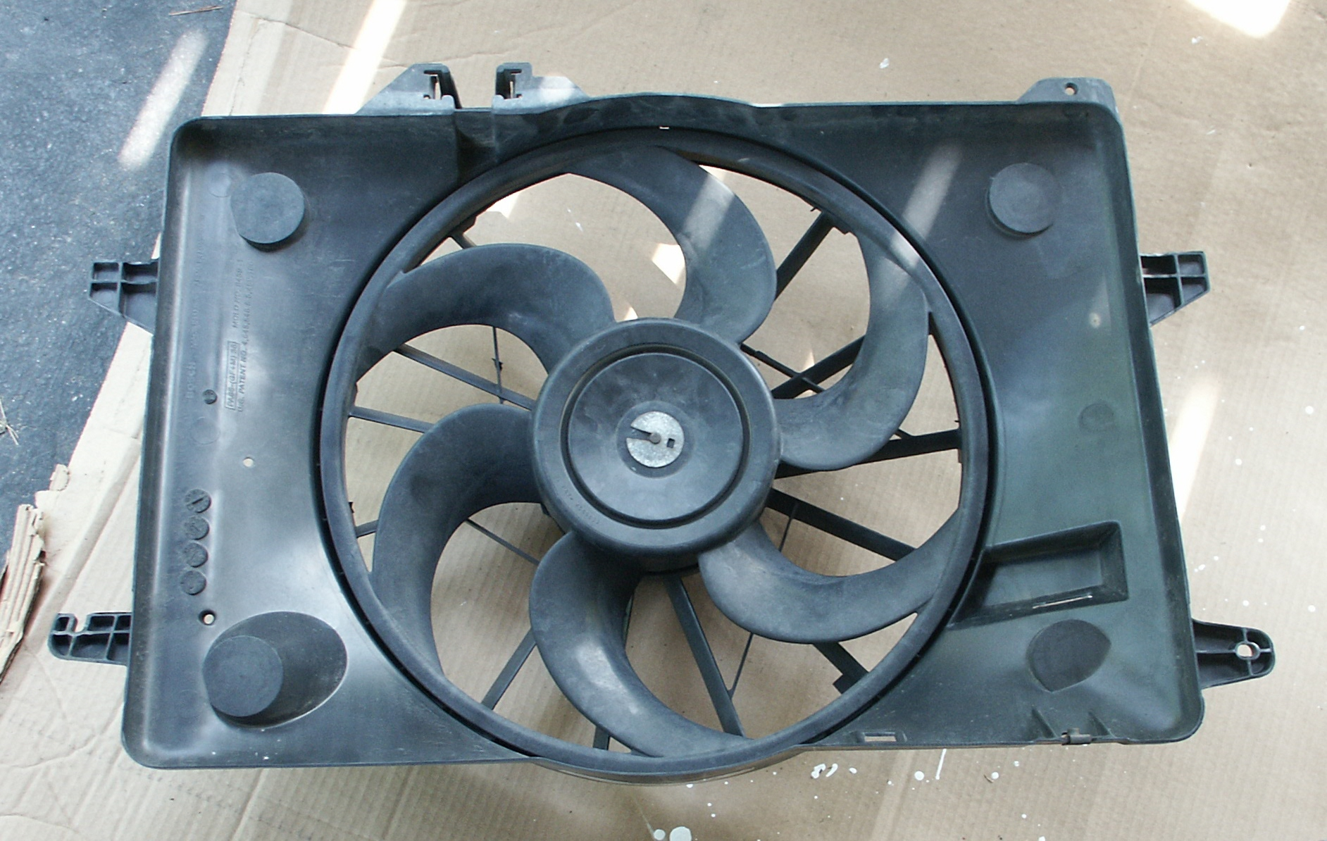 Ford Crown Victoria Radiator Fan Replacement