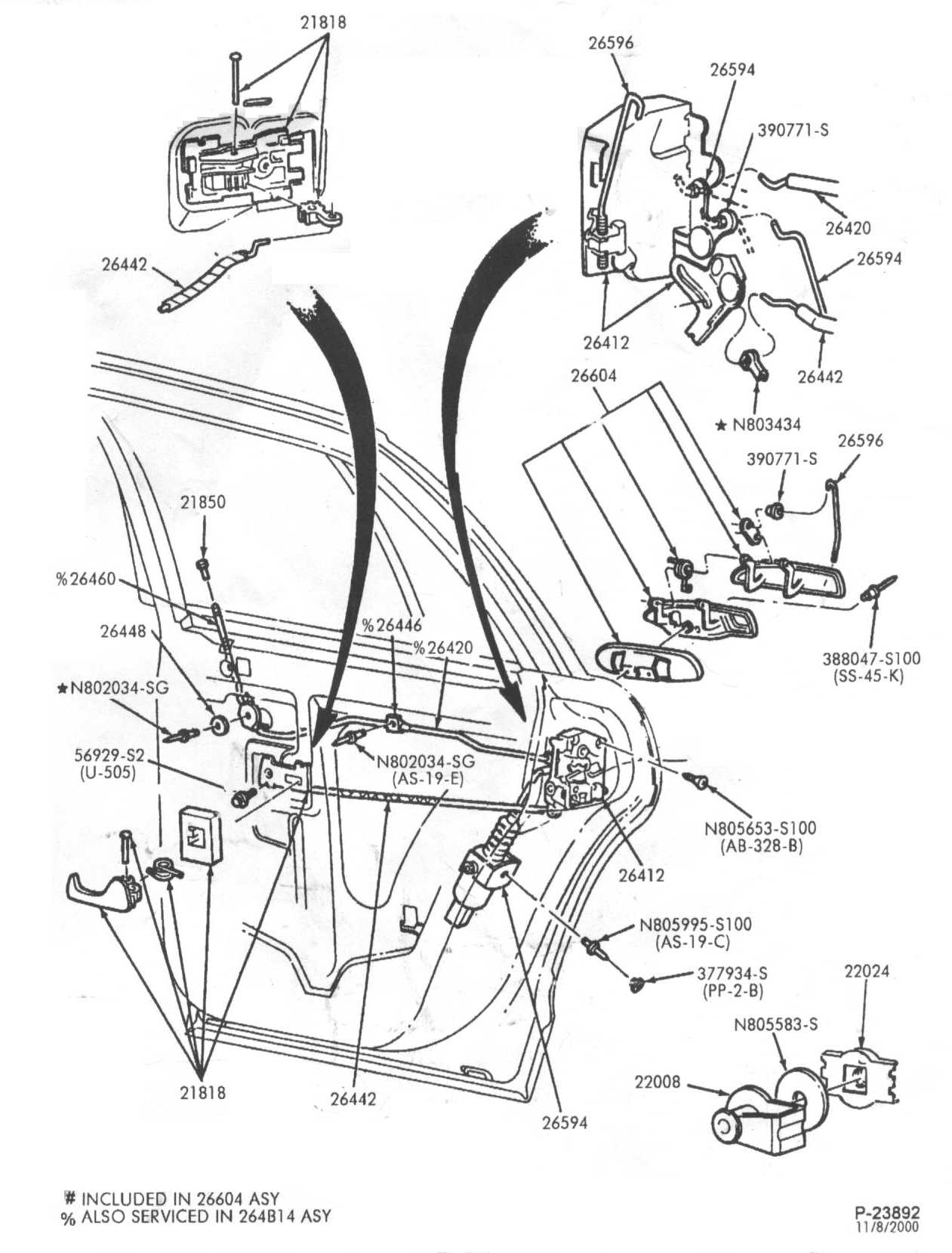 car door parts diagram