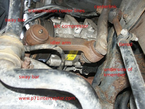 Ford Crown Victoria P71 4 6L 3-bolt Starter Replacement