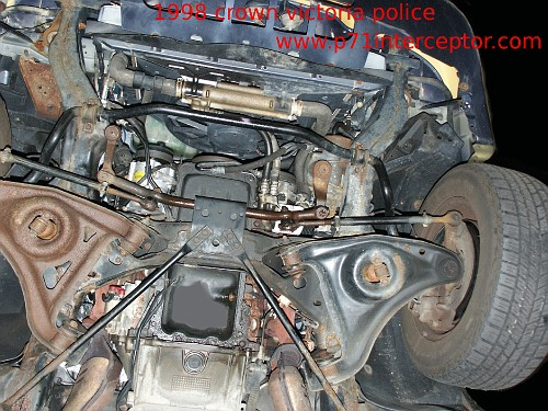 ford crown victoria p71 4 6l 3 bolt starter replacement 2001 mustang starter removal at 2001 Mustang Starter Diagram