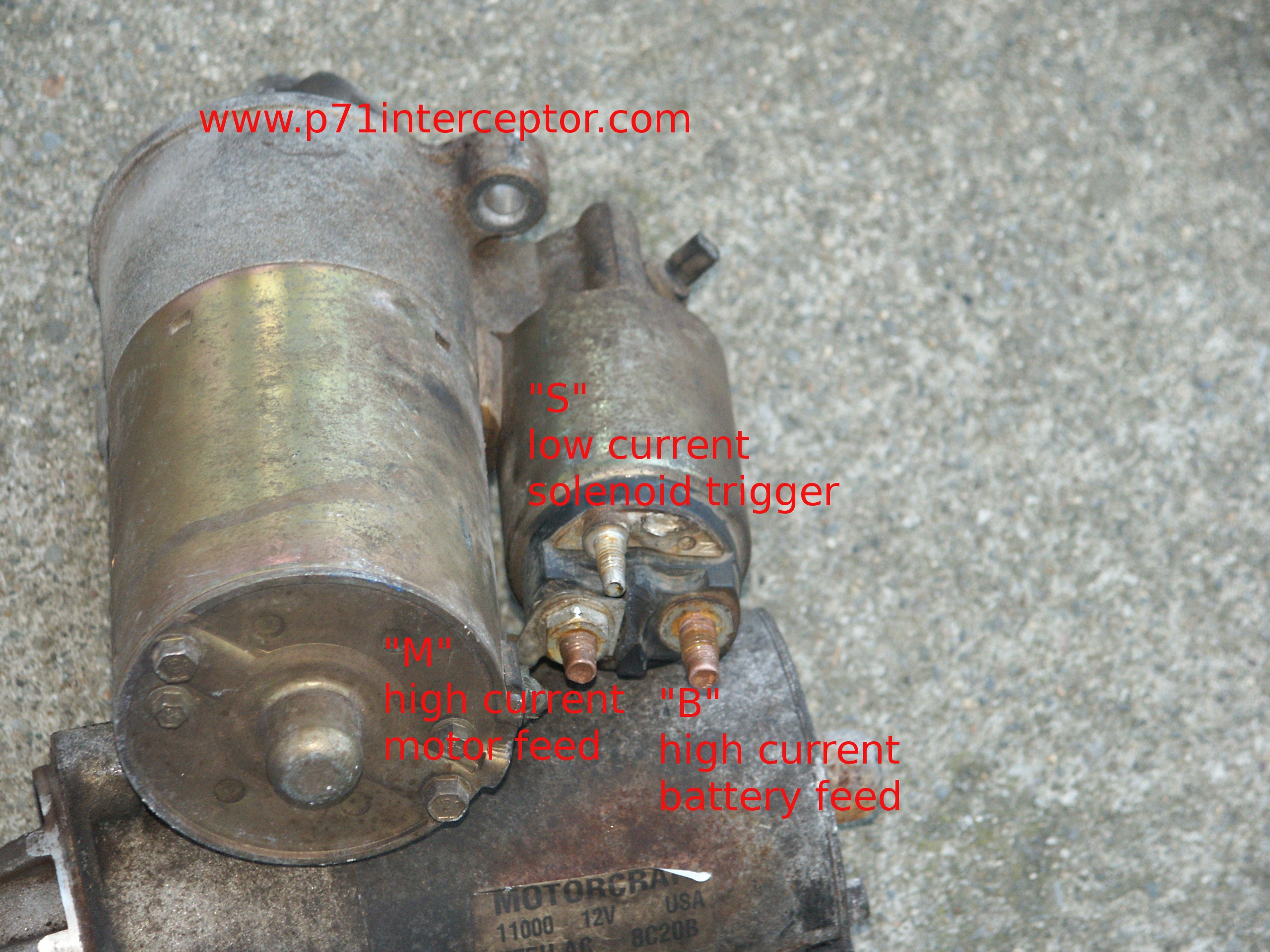 PICT6197 ford starter solenoid spade terminal 94 f150 starter wiring diagram at crackthecode.co