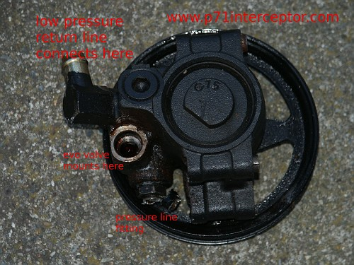 Ford Crown Victoria Power Steering Pump Replacement