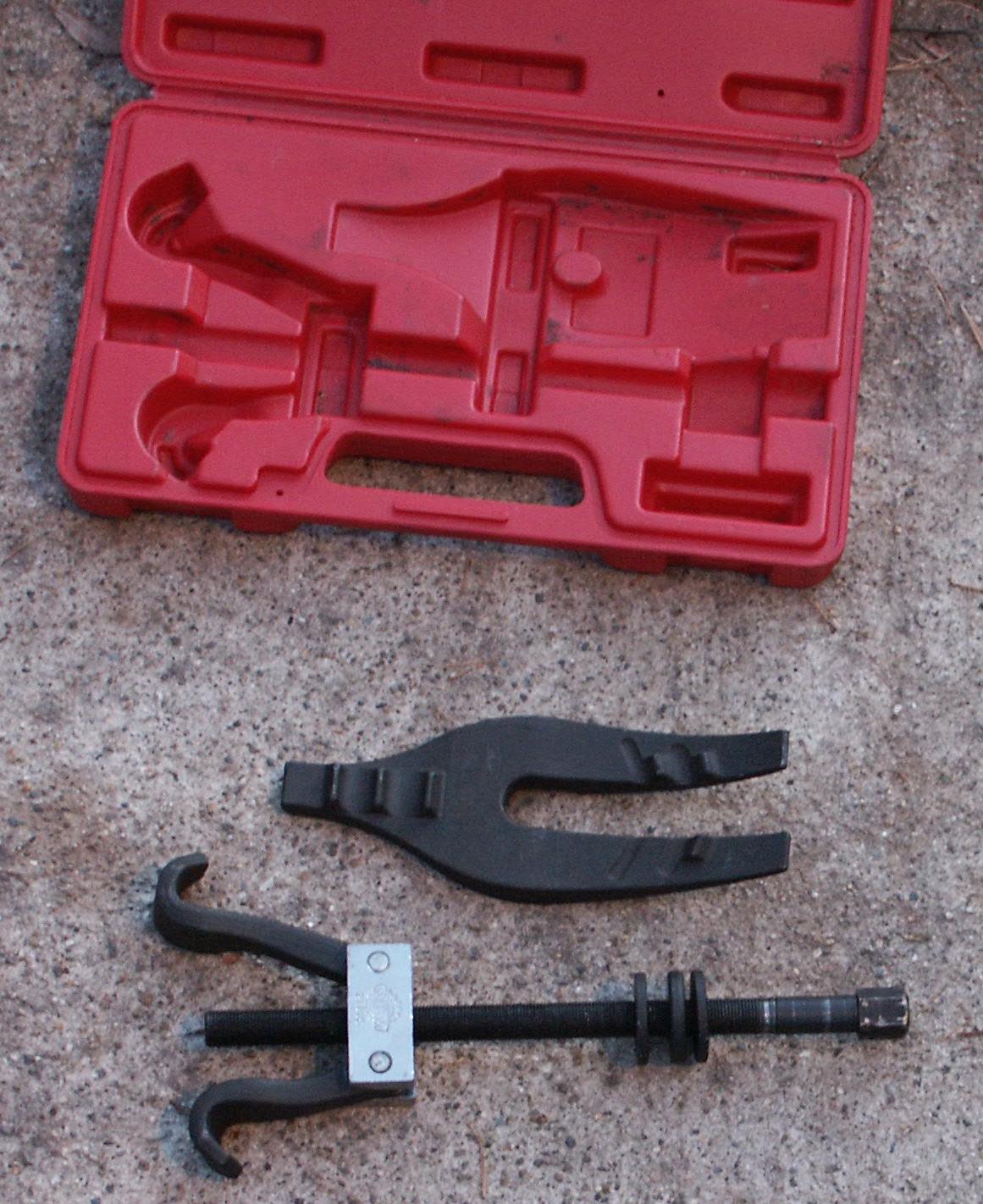 coil spring compressor autozone. performance tech w89311 coil spring compressor. - youtube compressor autozone