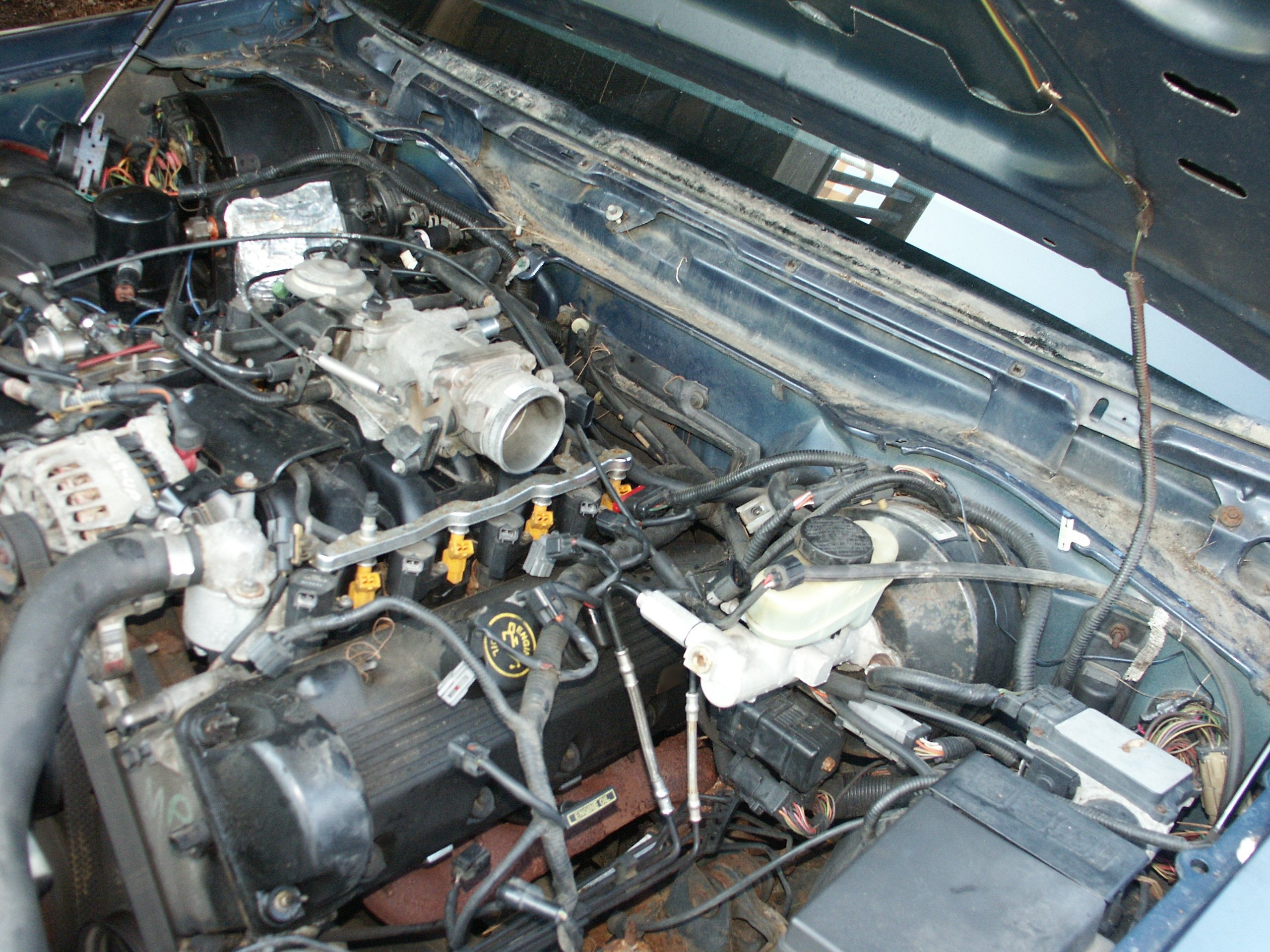 ford crown victoria lh valve cover gasket replacement