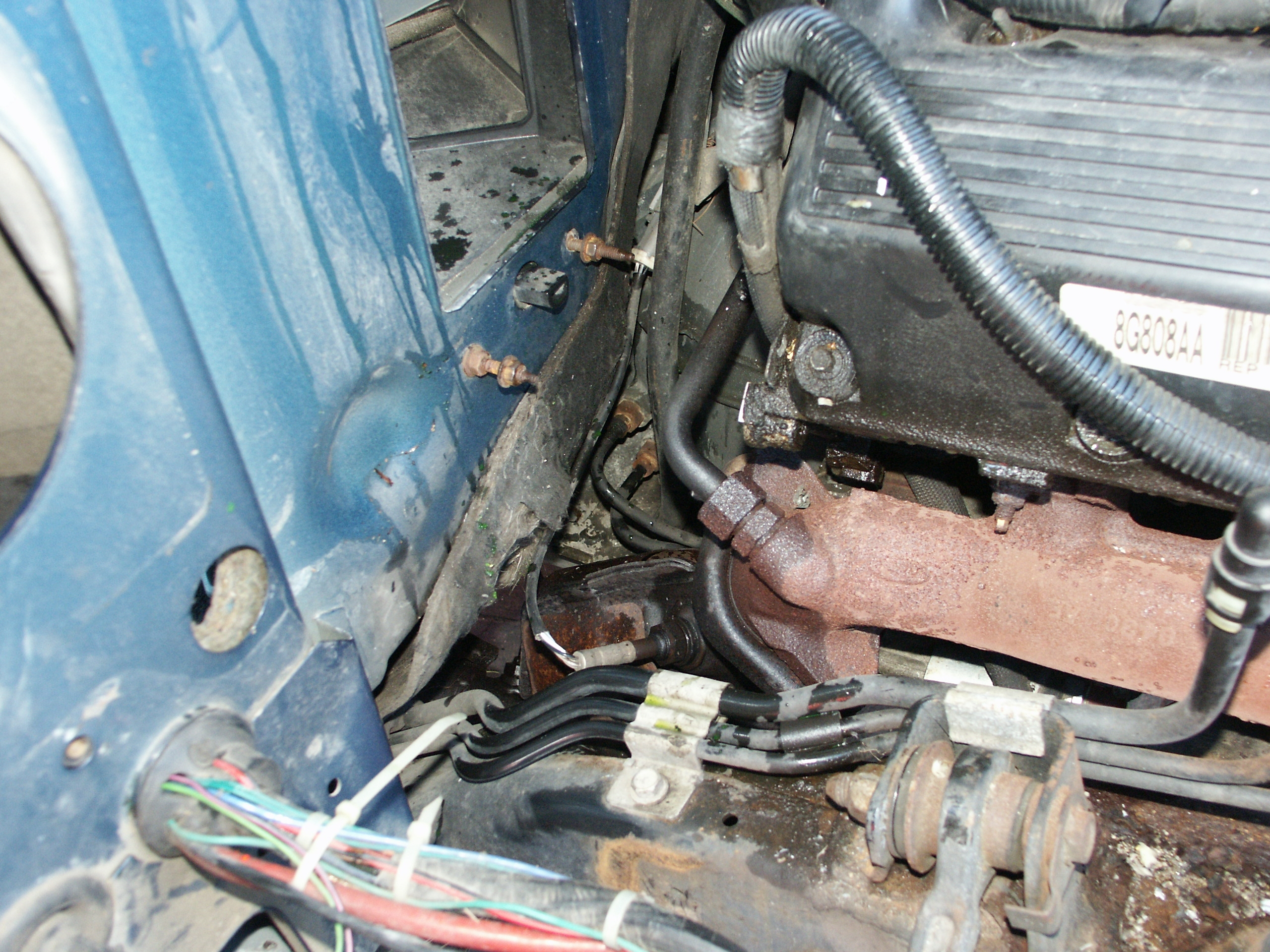 Ford Crown Victoria Passenger Side Valve Cover Replacement 1986 Ltd Wiring Diagram Get Free Image