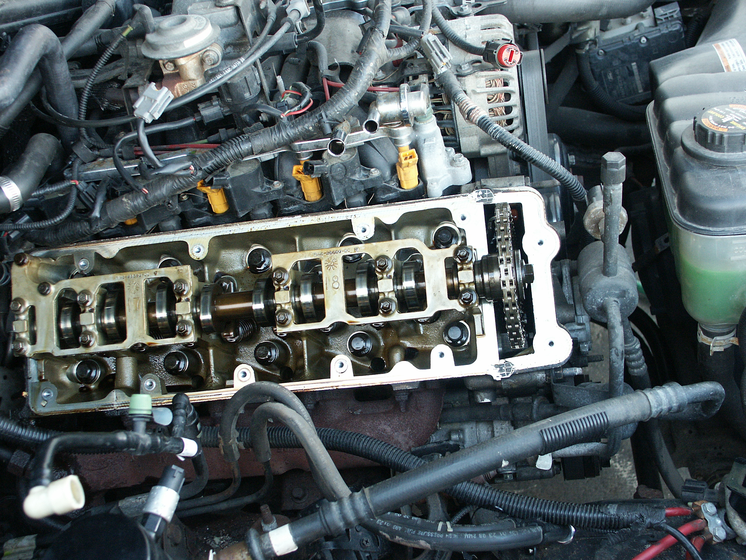 Ford Crown Victoria Passenger Side Valve Cover Replacement 2005 Wiring Diagram
